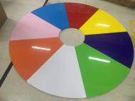 二代彩色变型团体活动桌椅 (