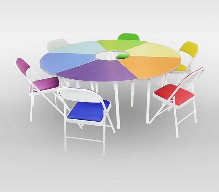 团体活动桌椅